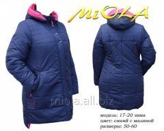 Winter women's jacket, fashion 17-20, TM Miola