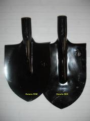 Лопата обработанная сталь