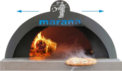 Ovens for pizzerias Marana Forni Italy