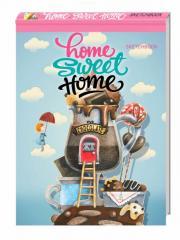 Блокнот Home sweet home! Chocolate