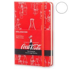 Блокнот Moleskine Coca-Cola маленький красный LECOQP012