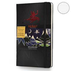 Блокнот Moleskine Hobbit средний черный LEHOBQP060