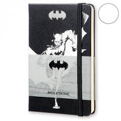 Блокнот Moleskine Batman маленький черный LEBA01QP012
