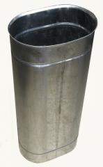Труба овальная