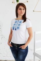Вишита жіноча  футболка Два кольори А-3