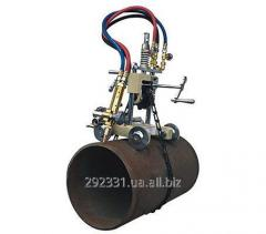 Machine for cutting pipes gas CG2-11G, manual drive