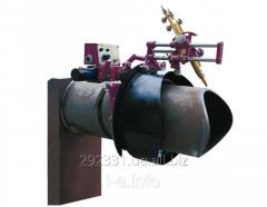 Saddle-oxygen gas pipes profiling machine NK-203
