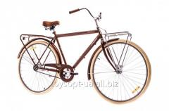 The bicycle 28 Dorozhnik COMFORT MALE 14G Velosteel St with bagazhn. brown 2016 (pieces)