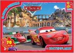 Пазлы ТМ G-Toys из серии Тачки, 70 элементов, Z10209