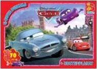 Пазлы ТМ G-Toys из серии Тачки, 70 элементов, Z10217