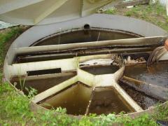 Monoblock station of sewage treatmen