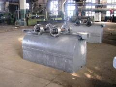 Вагонетки шахтные ВГ и запасные части к ним