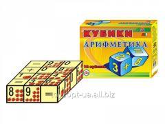 Кубики пл. арифметика 0243