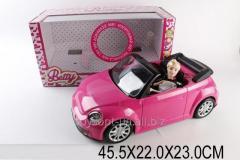 Машина 6633, 1543014, 12шт/2, батар., с куклой, в кор.45,5*22*23см