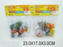 Животные 666H-9, 1229662, 288шт/2, 2 вида, в пакете 23 * 17 * 3см