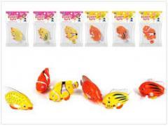 Заводная рыбка 8031A, 480шт/2, 6видов, в пакете 8 * 6 см