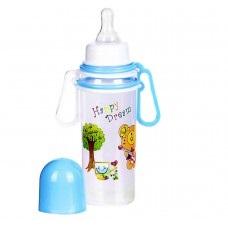 Бутылочка для кормления с передвижным ручками, пластиковая, 250 мл, 1108