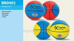 Мяч баскетбол BB0401, 50шт, 500 грамм, 2 цвета
