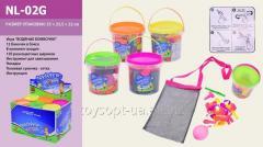 Игра Водянные бомбочкиNL-02G(1044471)12уп по 12 шт/2) 150 шар/ в баночке, разноцветные, в бо (шт.)