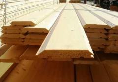 False-bar pine 30kh130kh3000-4500mm