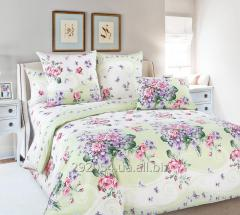 Elite double bedding set, printed sheeting fabric.