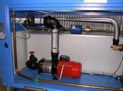 Чиллер (чиллер,  чіллер) - компрессор и насос
