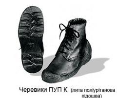Обувь на полиуретановой подошве, обувь