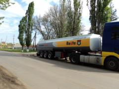 The semitrailer - tank for liquefied gas LPG,
