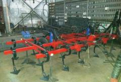 KPS-5-3R cultivator multirow with a spring harrow