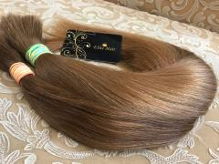 Natural children's hair Slavic not colored 40