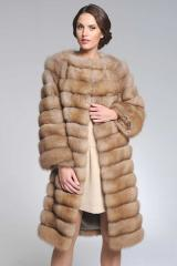 Fur coat from a sable