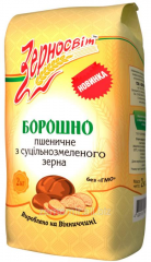 Wheat flour of rough grinding