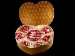 Сервиз чайный подарочный Бордо 18 предметов