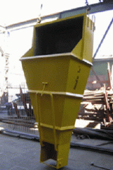 """Tub """"shoe"""" of BP-1 (V=1m.kub)"""