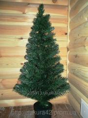 Ёлка новогодняя светящаяся (зелёная) 120 см