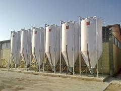 INTECH Fiberglass Silo For Flour 120 t