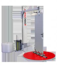 PKG Semi-automatic vertical pallet wrapper