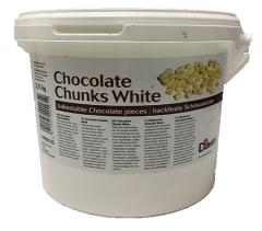 Термостабильный белый шоколад в кусочках /...