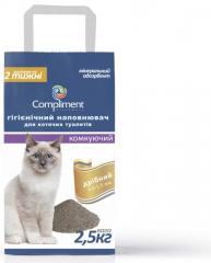 Гигиенический наполнитель для кошачьих туалетов (