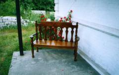 Лавочка садовая