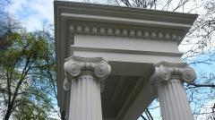 Декоративная деталь фасада из бетона