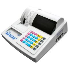 The MINI-600.01ME cash register is stationary