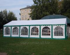 Tent for summer cafes