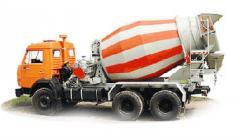 Concrete the mixer of any Concrete brands to Kiev