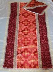 Набор ритуальный Парча церковная с люрексом 2