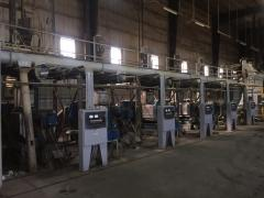 Second-hand line of extraction of vegetable oil of
