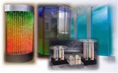 Водопады по стеклу: подсветка водопада по стеклу,