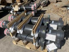 Гидроцилиндр Edbro ( Англія) для підйому кузова полуприцепа (самосвал,зерновоз) 7 метрів 5 штоків. для полуприцепа