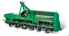 DERBY: a horizontally milling cultivator with side