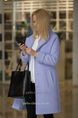 пальто женское  двубортное Samange M490